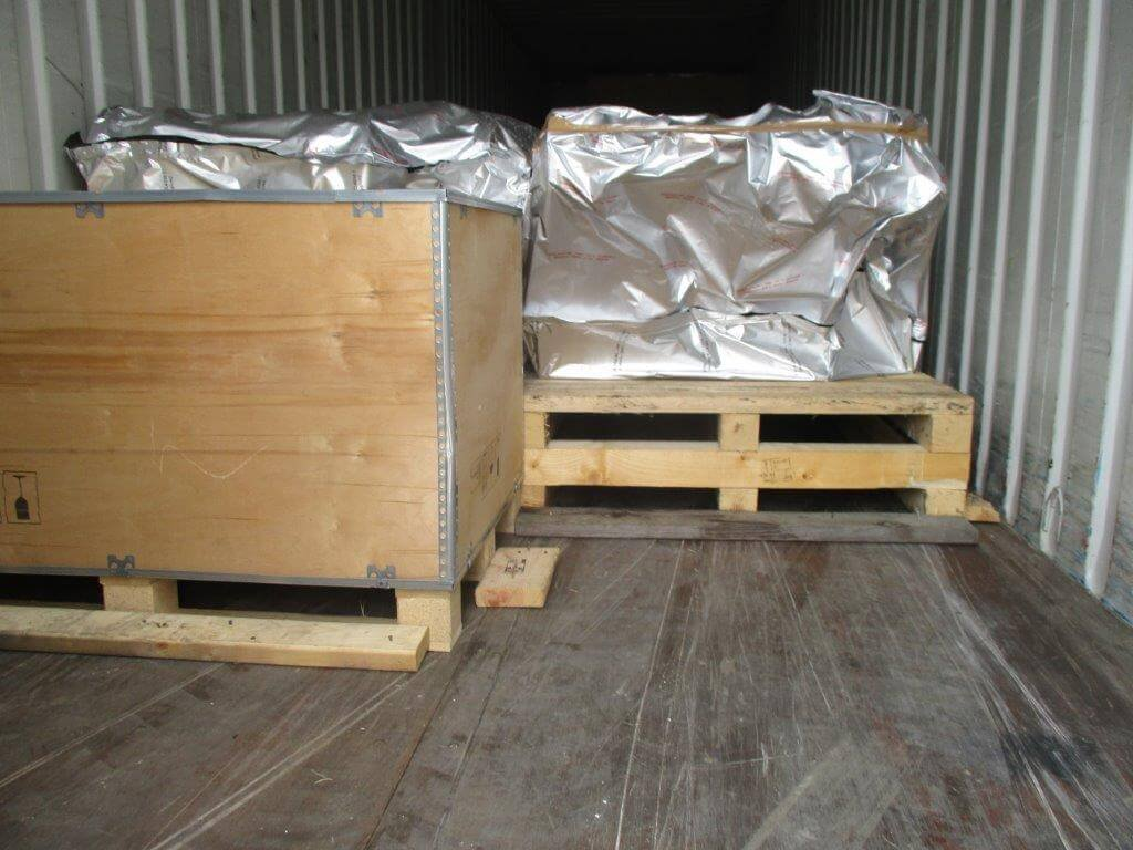 container loading & load restraints completed